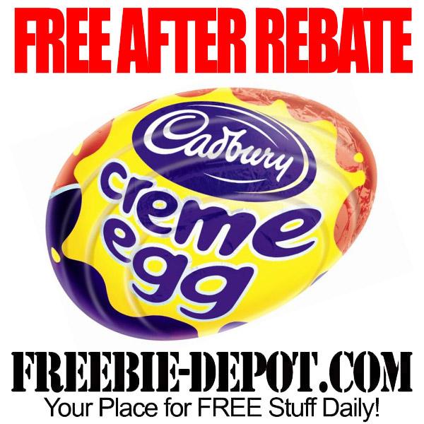 Free After Rebate Cadbury Cream Egg