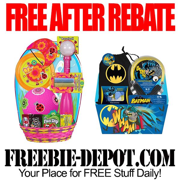 Free After Rebate Easter Basket