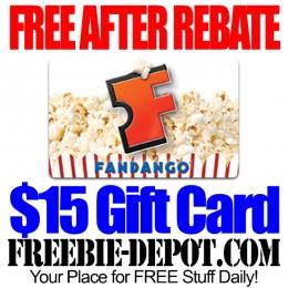 Free-After-Rebate-Fandango-Gift-Card