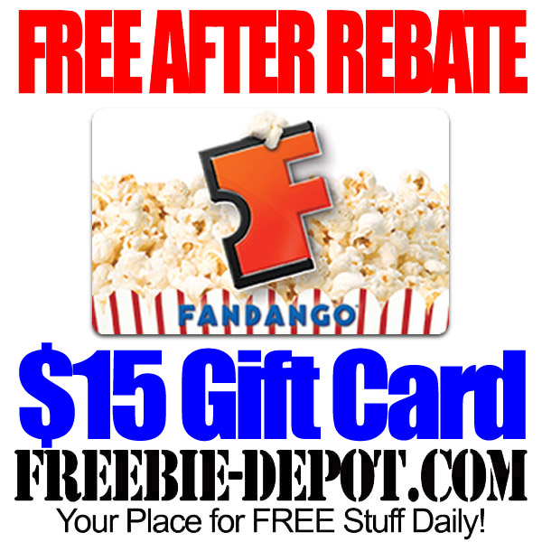 Free After Rebate Fandango Gift Card