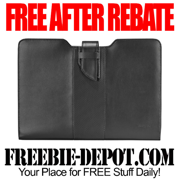 Free After Rebate Leather Laptop Sleeve