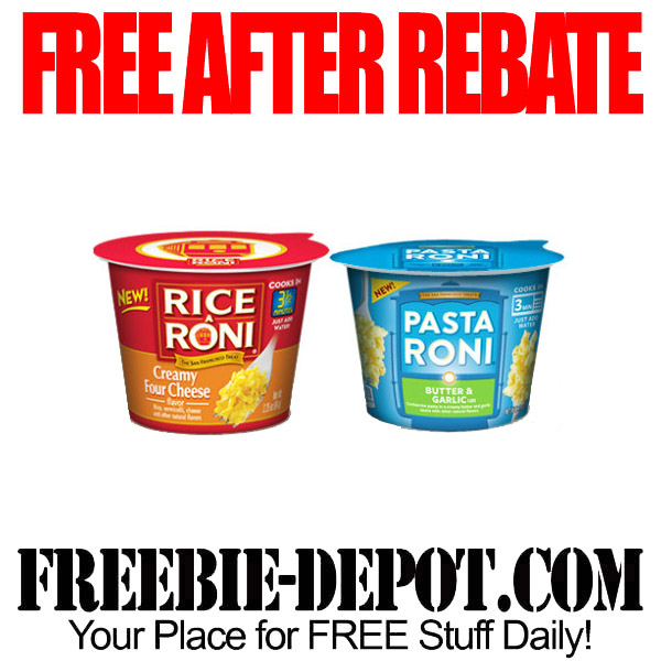 Free After Rebate Rice A Roni