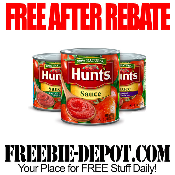 Free After Rebate Tomato Sauce