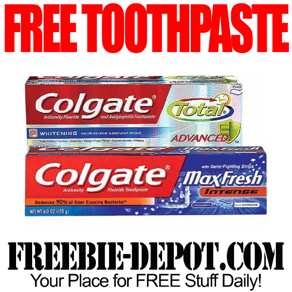 Free After Rebate Toothpaste at Walgreens