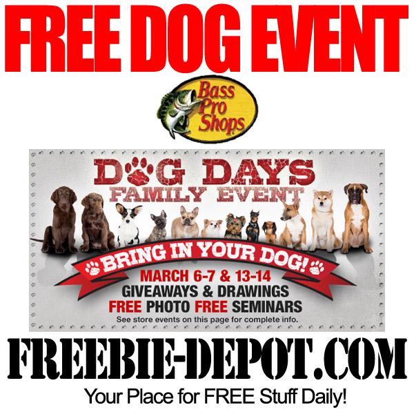 Free Bass Pro Dog Event