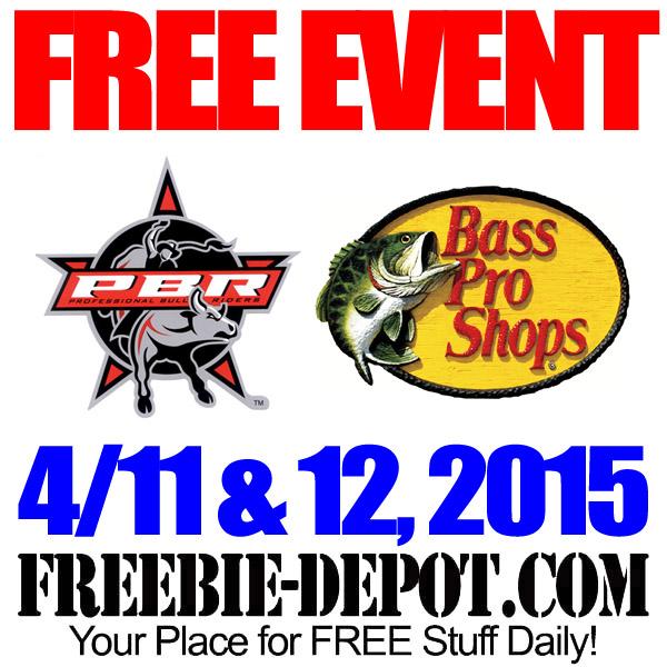 Free Bass Pro Bull Riding Event