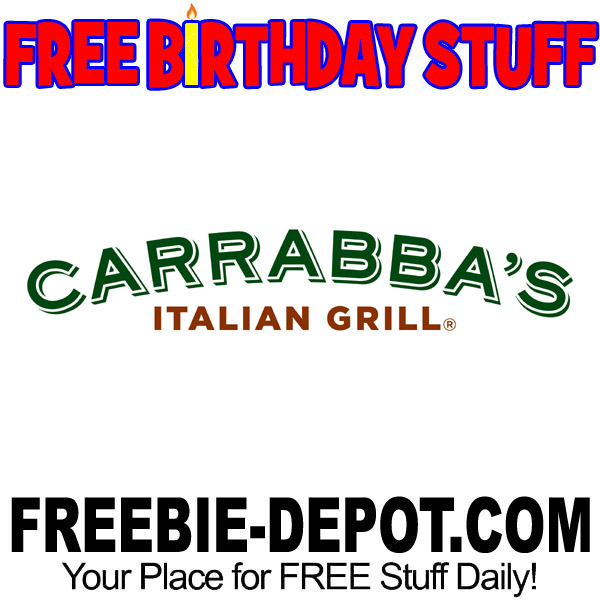 image about Carrabba's Coupons Printable identified as Absolutely free BIRTHDAY Things Carrabbas Italian Grill Freebie Depot