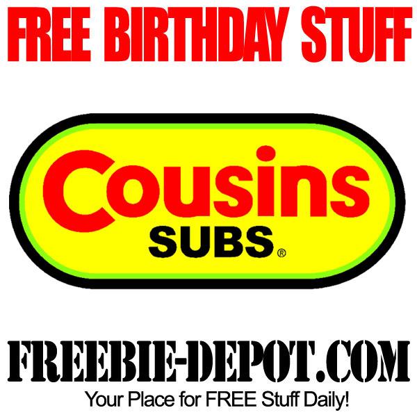 Free Birthday Deals