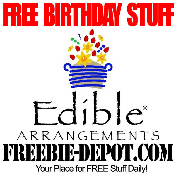 Free Birthday Fruit From Edible Arrangements