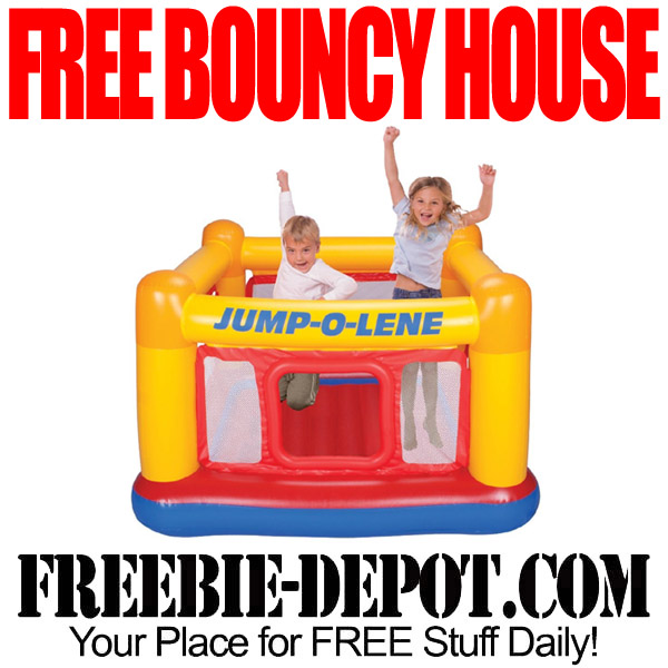 FREE Bouncy House – FREE Indoor/Outdoor Inflatable Bouncer for Ages 3-6