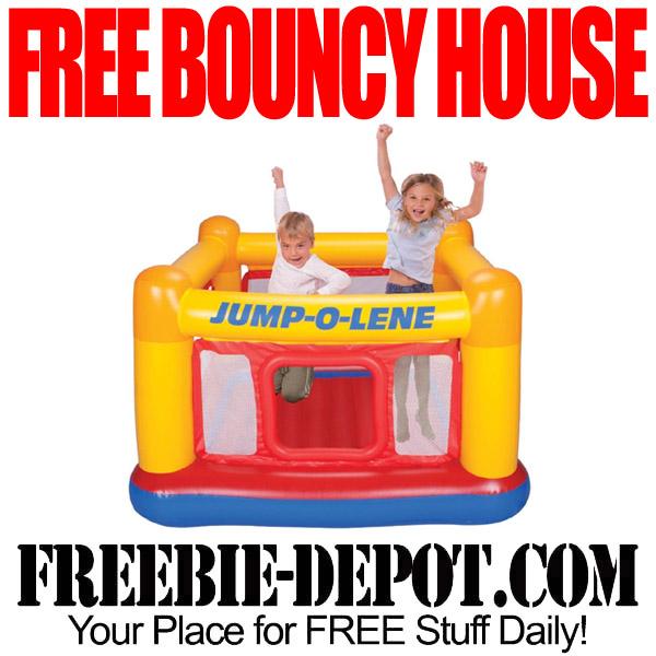 Free Kids' Bouncy House