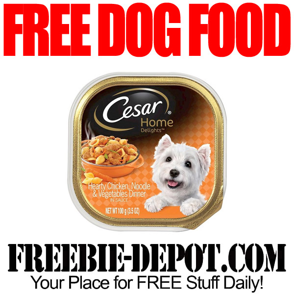 FREE Dog Food – 4 FREE Cesar Dog Food at Dollar Tree with Coupon