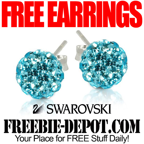 Free Earrings Swarovski