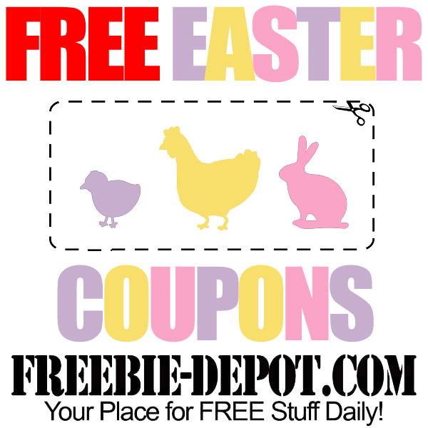 Free Easter Coupons for Candy