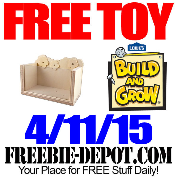 Free Lowes Toy Planter Clinic