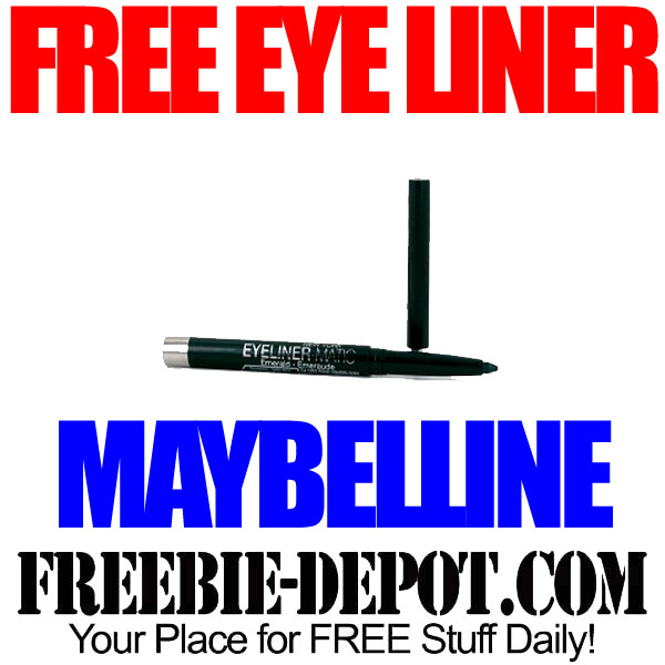 Free Maybelline Eye Liner