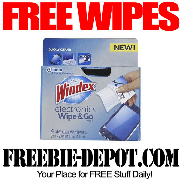 Free Wipes Windex