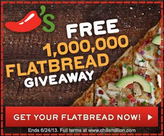 FREE Flatbread at Chili's
