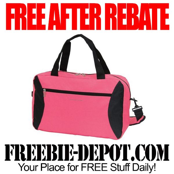 Free After Rebate Carry-All Bag Pink