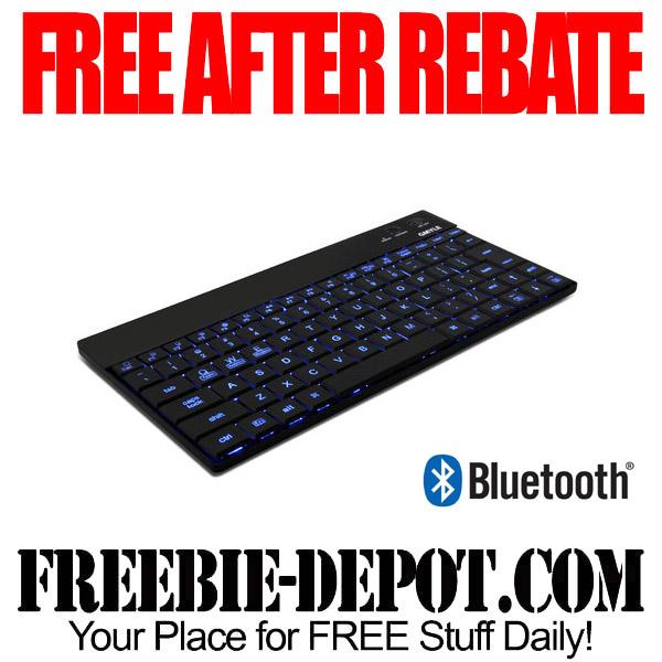 Free After Rebate Bluetooth Lit Keyboard