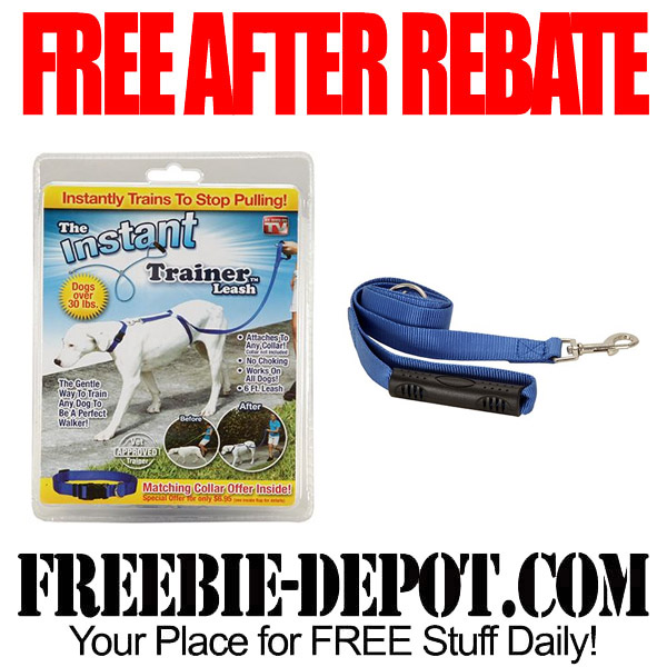 Free After Mail In Rebate Dog Leash