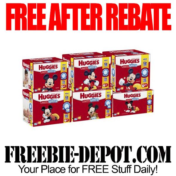 Free After Rebate Huggies Diapers