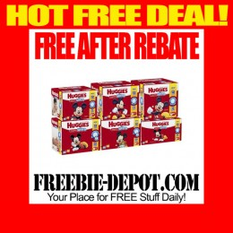 FREE AFTER REBATE – HUGGIES Snug & Dry Ultra Diapers at Walmart – FREE Big Pack of Diapers – $21 Value or more – Exp 5/1/15