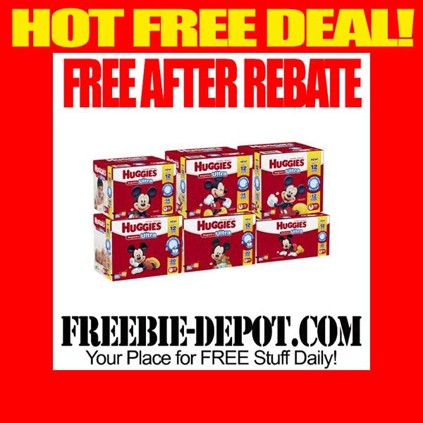 FREE AFTER REBATE – HUGGIES Snug & Dry Ultra Diapers at Walmart – FREE Big Pack of Diapers – $21 Value or more – Exp 5/1/15