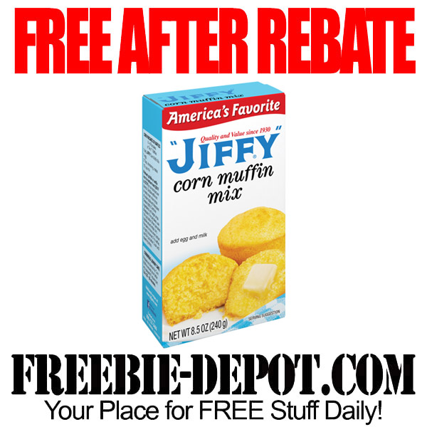 Free After Rebate Jiffy Corn Muffin Mix