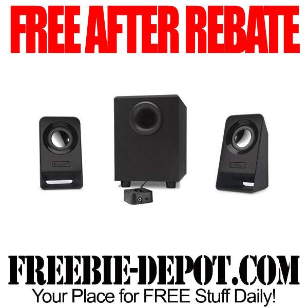 Free After Rebate Logitech Speakers