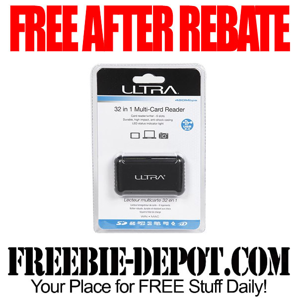 Free After Rebate Multi Card Reader 32-in-1