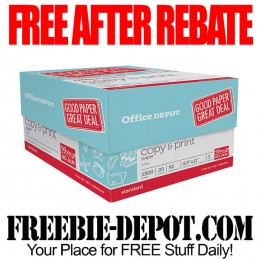 Free-After-Rebate-Office-Depot-Paper