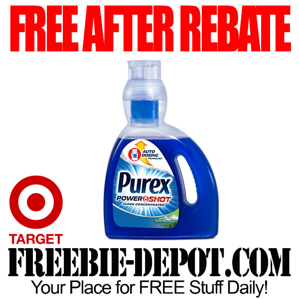 Free After Rebate Purex Laundry Detergent