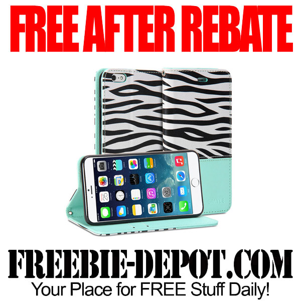 Free After Rebate iPhone Wallet Case