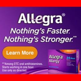 FREE Sample of Allegra Allergy Medication – FREE Medicine Sample