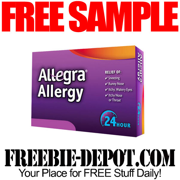 FREE Sample of Allegra Allergy – FREE Allergy Medication Sample