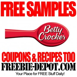 FREE SAMPLES – Betty Crocker – FREE Coupons and Recipes from Betty Crocker