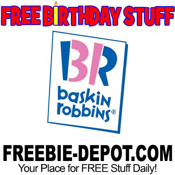 FREE BIRTHDAY STUFF – Baskin-Robbins