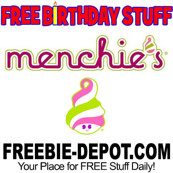 FREE BIRTHDAY STUFF – Menchie's Frozen Yogurt