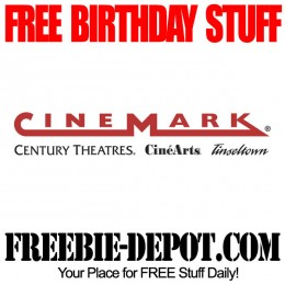 Free Birthday Popcorn at Theater