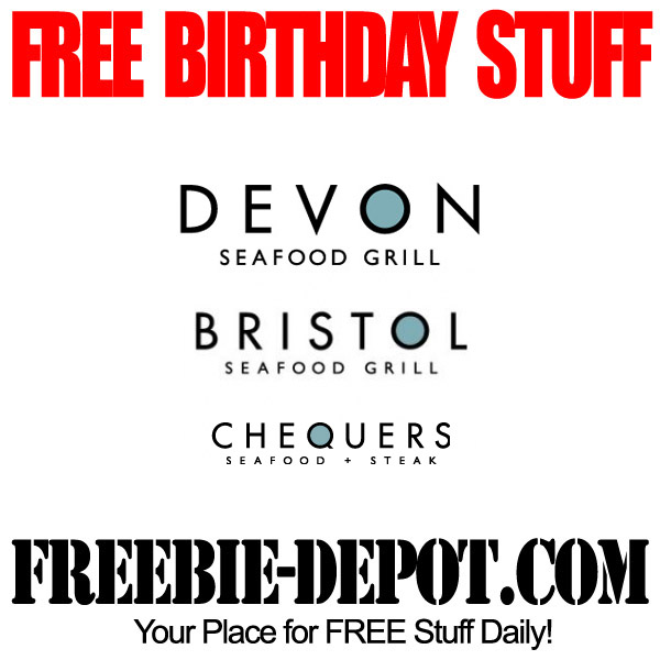 BIRTHDAY FREEBIE – Chequers Seafood & Steak