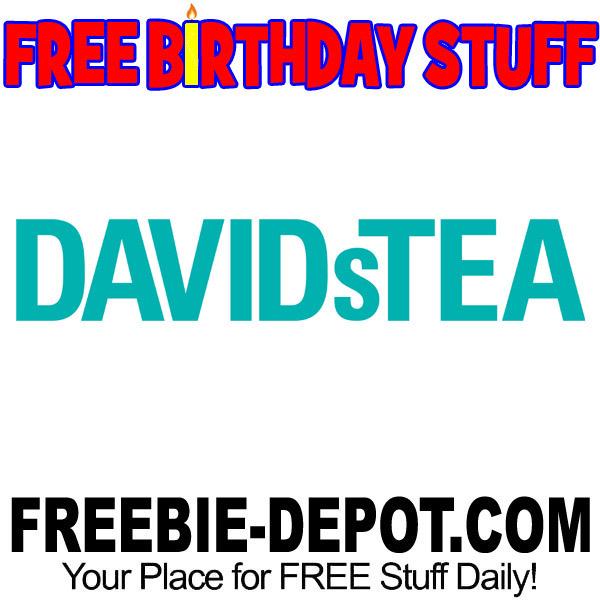 FREE BIRTHDAY STUFF – DAVIDsTEA