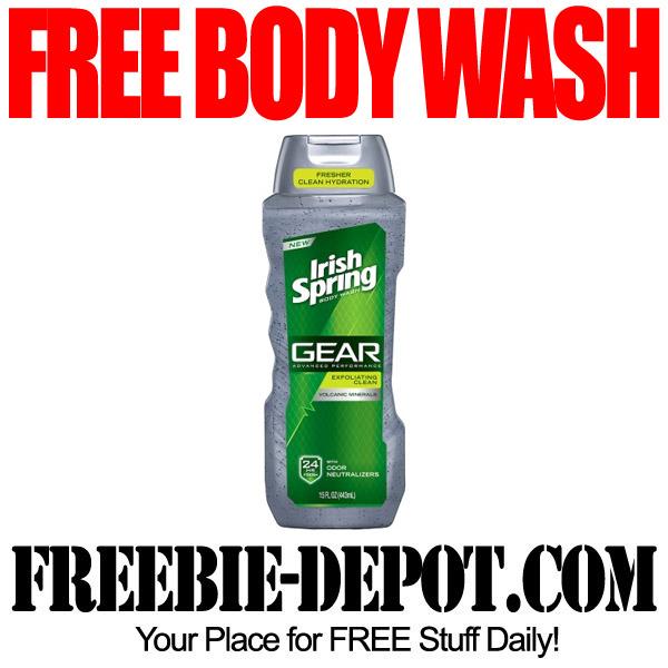 Free Body Wash at Walgreens