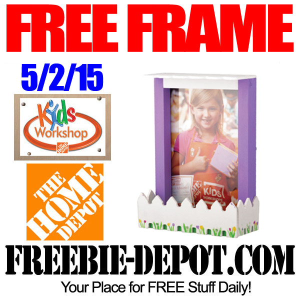 Free Frame workshop at Home Depot for Children