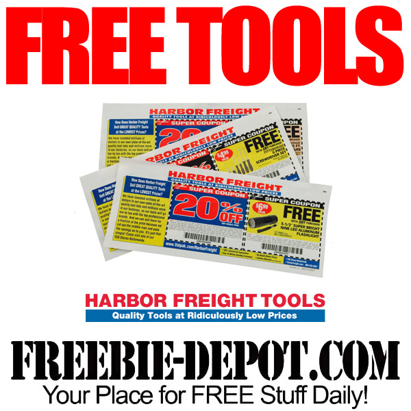 FREE Tools and More at Harbor Freight Tools