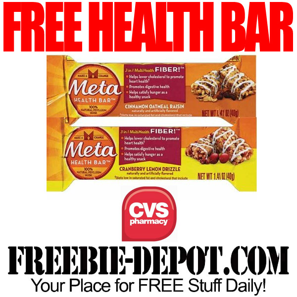 Free Health Bar at CVS