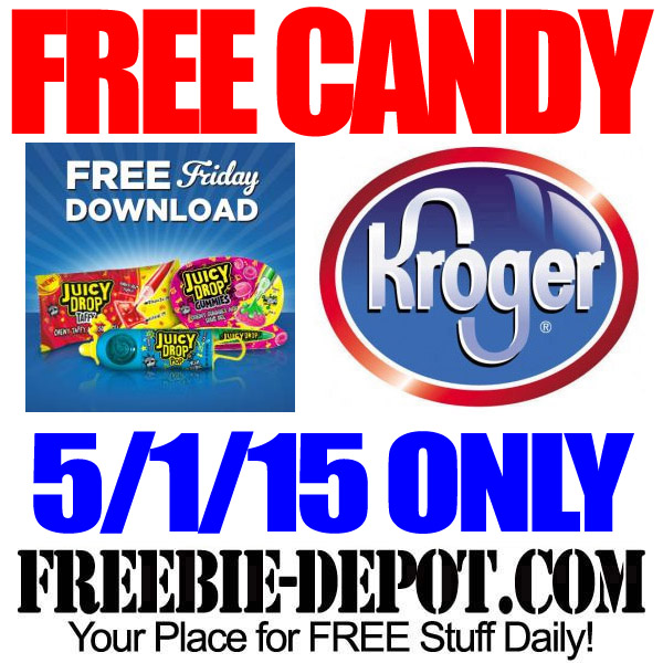 Free Candy at Kroger for Freebie Friday!