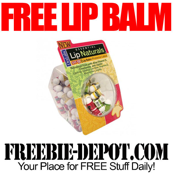 Free Lip Balm Test Product
