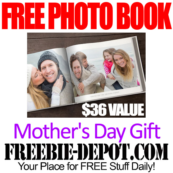 Free Mothers Day Photo Book Gift