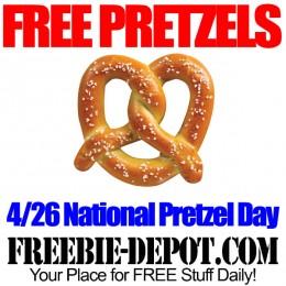 FREE Pretzels for National Pretzel Day – 4/26/15